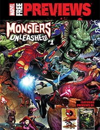 Marvel Free Previews Monsters Unleashed