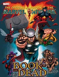 The Official Handbook of the Marvel Universe: Book of the Dead