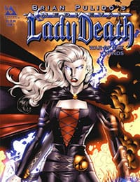 Brian Pulido's Medieval Lady Death:  War of the Winds
