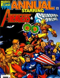 AXE: The Freshmen Issue Featuring The Avengers