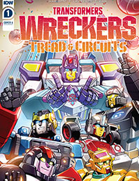 Transformers: Wreckers-Tread and Circuits Comic