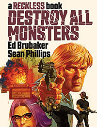 Destroy All Monsters: A Reckless Book Comic