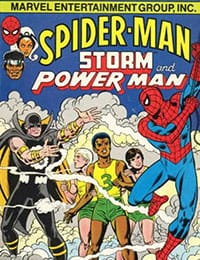 Spider-Man, Storm and Power Man