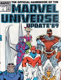 The Official Handbook of the Marvel Universe: Update '89