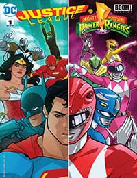Justice League/Mighty Morphin' Power Rangers Comic