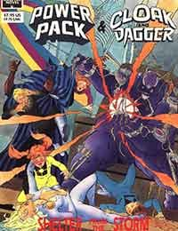 Marvel Graphic Novel: Cloak and Dagger and Power Pack: Shelter From The Storm